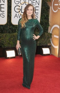 Olivia looked stunning