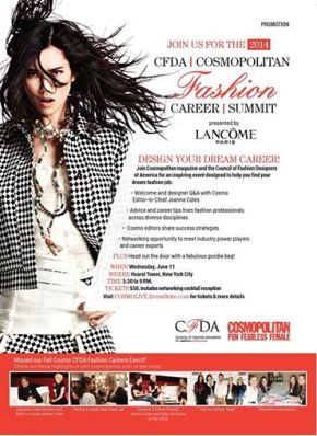 CFDA + Cosmopolitan Career Summit